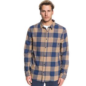 Quiksilver Motherfly Flannel Shirt Herren caribou motherfly